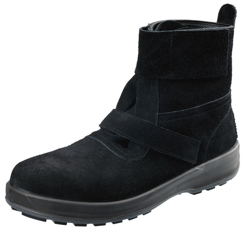 シモン安全靴 WS28 黒床 高温耐熱作業用安全靴