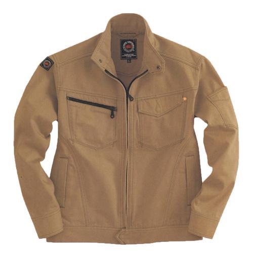 BURTLE5201 ジャケット[社名刺繍無料] カラー:キャメル