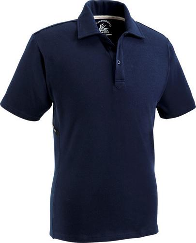DESK75114 Z-DRAGON ストレッチ半袖ポロシャツ 011/ネービー