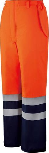 DESK48471 高視認防水防寒パンツ 076/オレンジ