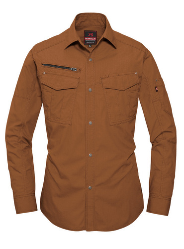 BURTLE5515 長袖シャツ[社名刺繍無料] 82/マーベリック