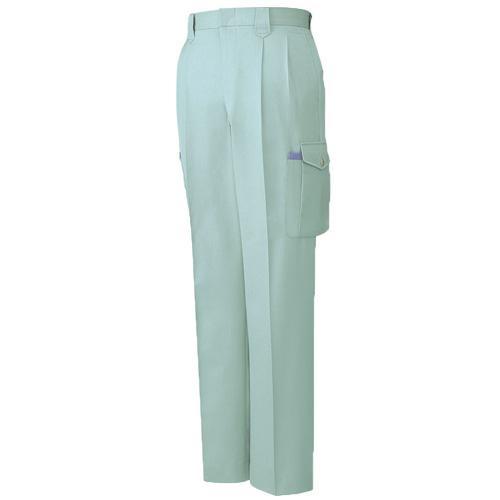 DESKH41502 ツータックカーゴパンツ(長身用・丈長ハーフ) カラー:アースグリーン