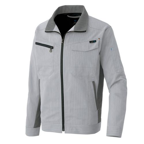 AZ-30630 長袖ブルゾン[社名刺繍無料] 003/シルバーグレー