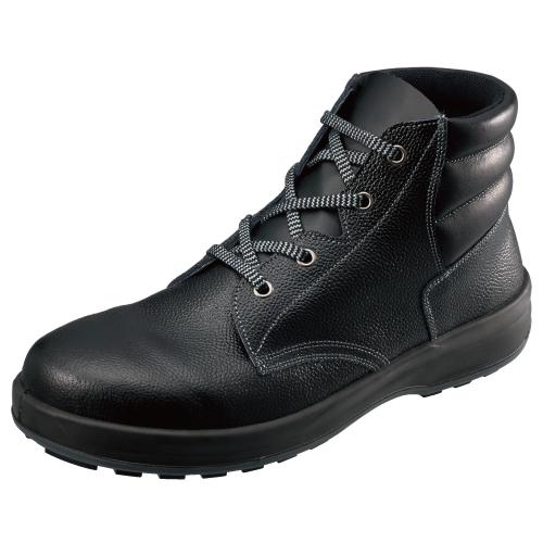 SIMON-WS22 シモン安全靴 WS22 黒 編上靴