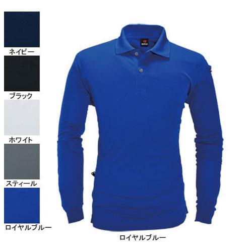 BURTLE303 長袖ポロシャツ