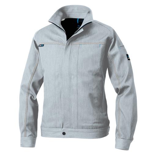 AZ-60901 長袖ブルゾン[社名刺繍無料] 003/シルバーグレー