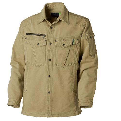 TAKA_GC5002 GRANCISCO(グランシスコ)ワークシャツ[社名刺繍無料] 4/ベージュ