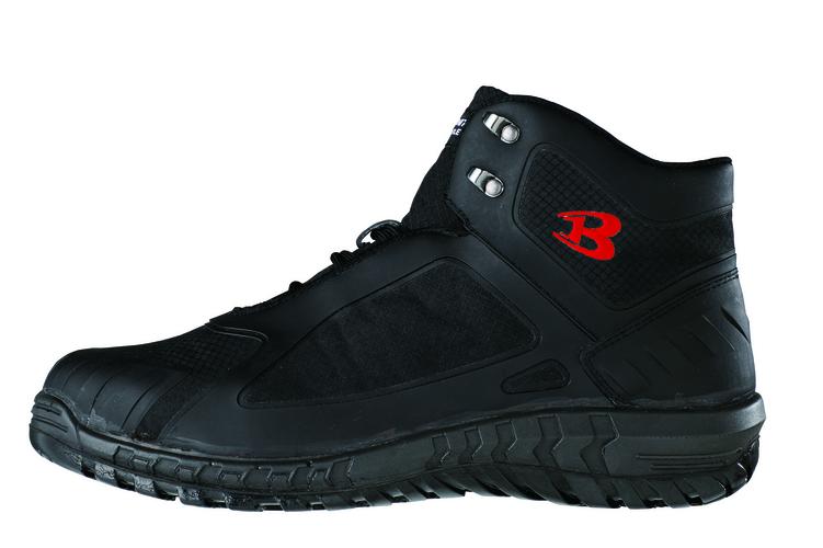 BURTLE812 セーフティフットウェア(ユニセックス) 35/ブラック