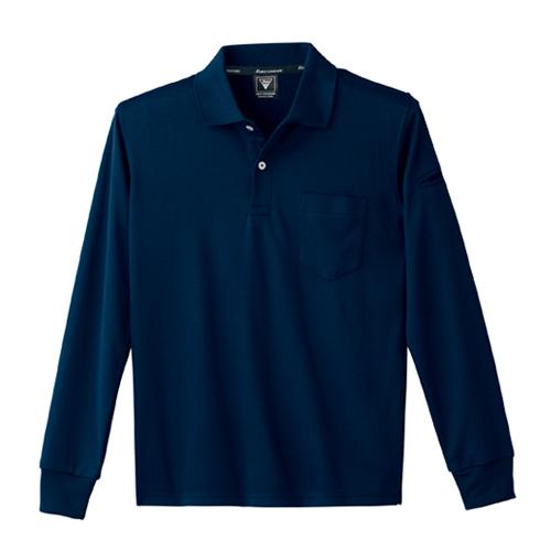 XEB6015 静電長袖ポロシャツ 10/コン