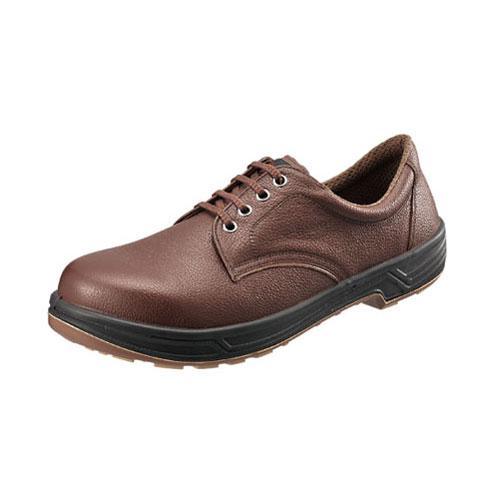 シモン安全靴 SS11 茶 短靴