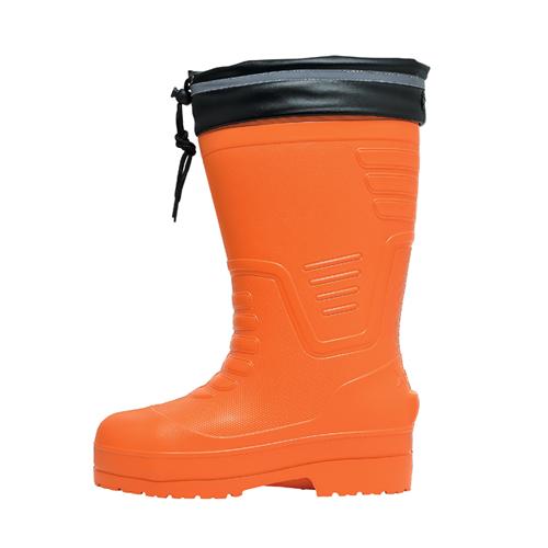 XEB85712 超軽量 EVA防寒長靴 82/オレンジ