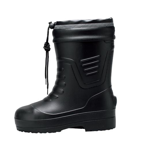 XEB85715 超軽量 EVAショート丈防寒長靴 90/クロ