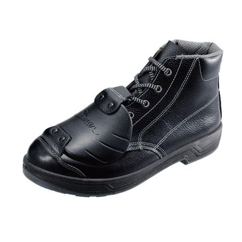 シモン安全靴 SS22 D-6 黒 樹脂甲プロ編上靴