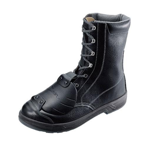 シモン安全靴 SS33 D-6 黒 樹脂甲プロ編上靴