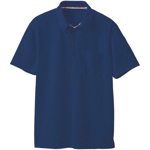 SOWA50137 半袖ポロシャツ 1/ネイビー