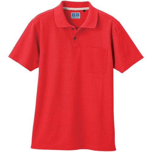 SOWA50597 半袖ポロシャツ 48/ライトレッド