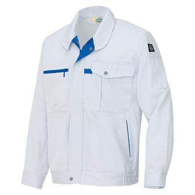 AZ-6360 長袖ブルゾン[社名刺繍無料] カラー:シルバーグレー