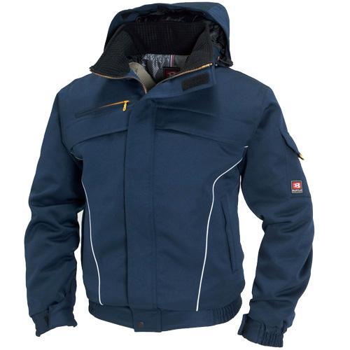 BURTLE7110 防寒ブルゾン カラー:ネイビー