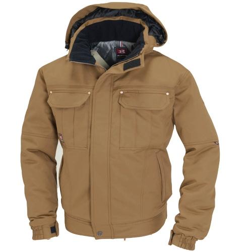 BURTLE8110 防寒ジャケット カラー:キャメル