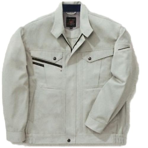 BIG716 長袖ジャケット[社名刺繍無料] カラー:アースグリーン