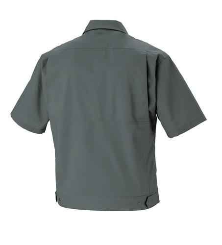 XEB1691 半袖ブルゾン[社名刺繍無料] バックスタイル