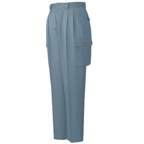 DESKH41602 ツータックカーゴパンツ(長身用・丈長ハーフ) カラー:ミストブルー