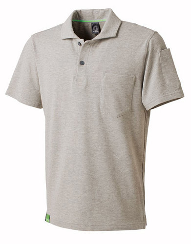TAKA_GC5006 GRANCISCO(グランシスコ)半袖ポロシャツ 3/シルバー