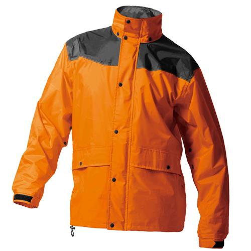 MAK_AS5400 レインハードプラス2(上下セット) オレンジ