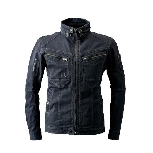 IZFRONTIER7160 ダブルアクティブワークジャケット[社名刺繍無料] 13/ディープグレー