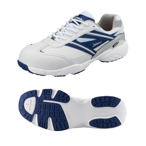 SIMON-KA211WB シモン安全靴 軽技A+シリーズ KA211 ホワイト/ブルー ホワイト/ブルー