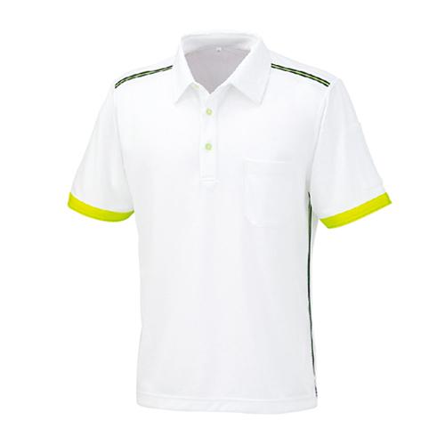 OKW-01627 半袖ポロシャツ 1/ホワイト