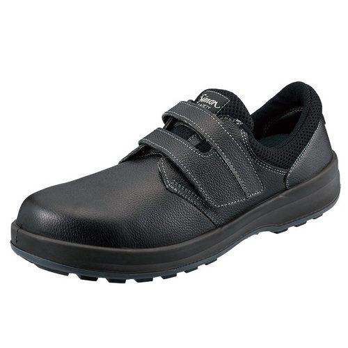 SIMON-WS18 シモン安全靴WS18 黒 短靴
