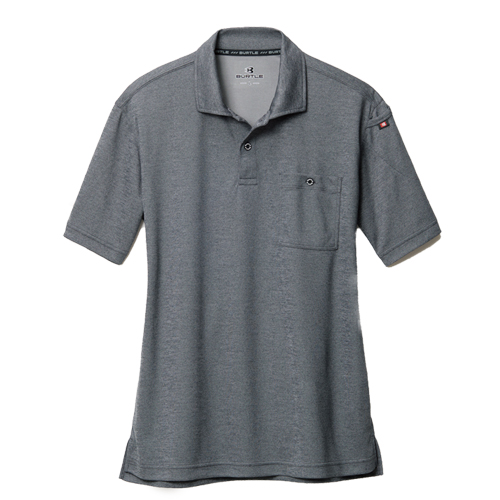 BURTLE667 半袖ポロシャツ 052/バーグ(杢)