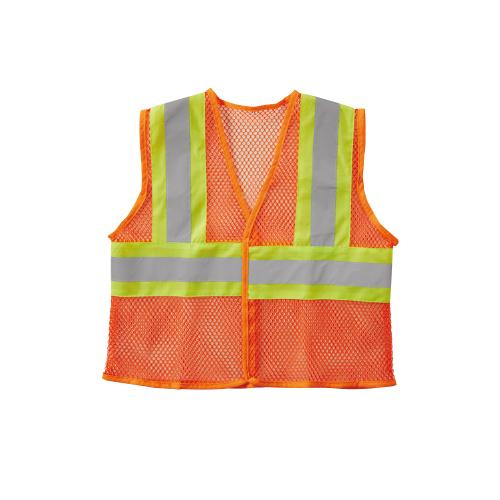 SOWA80004 高視認性安全服!JIS T8127規格!ウルトラメッシュ ENベスト 75/蛍光オレンジ