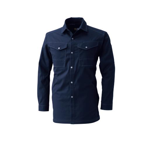 SOWA545 長袖シャツ[社名刺繍無料] 1/ネイビー