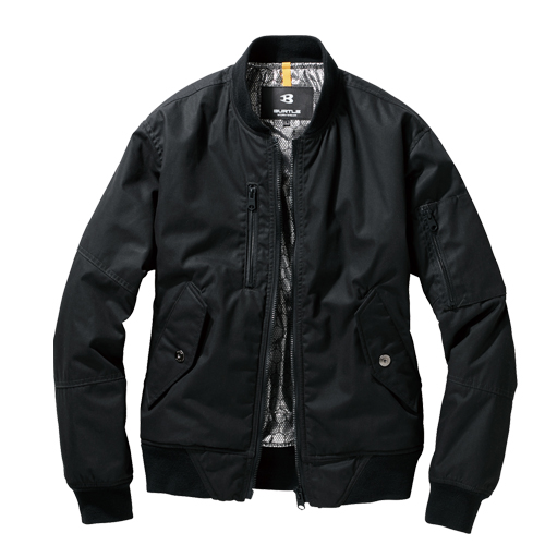 BURTLE5260 フライト防寒ジャケット 35/ブラック