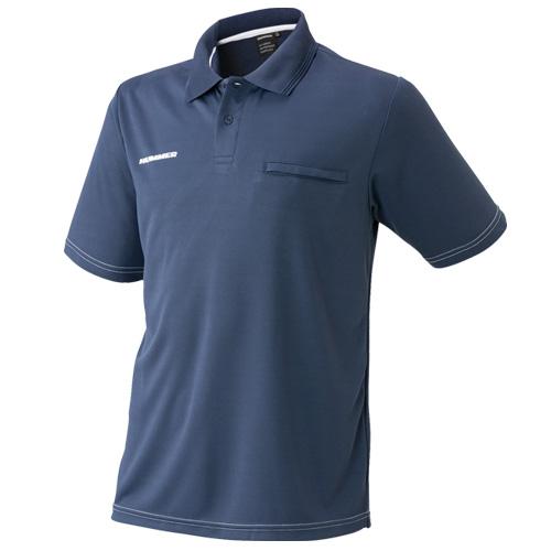 ATACKBASE-HUMMER1153-25 HUMMER 半袖ポロシャツ 02/ネイビー