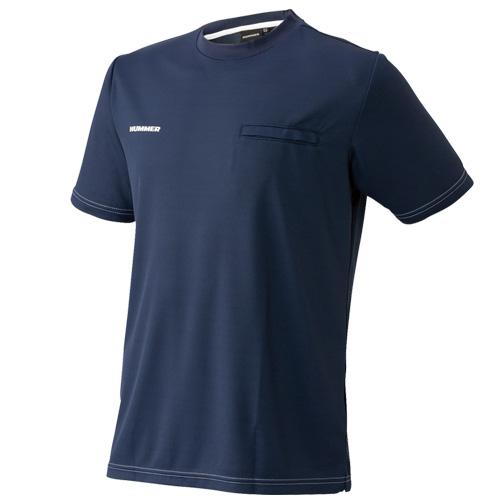 ATACKBASE-HUMMER1155-25 HUMMER 半袖Tシャツ 02/ネイビー