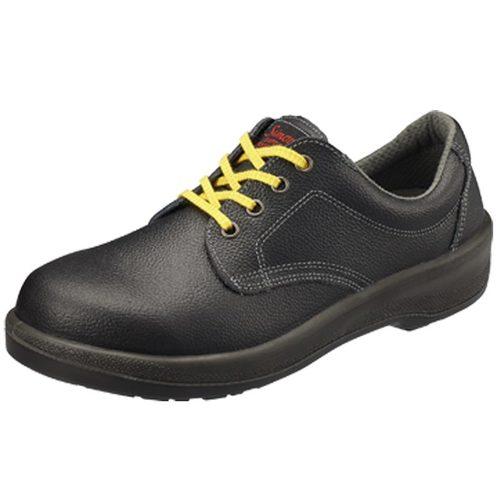 シモン安全靴 7511 黒静電靴