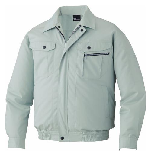 DESK87040 空調服長袖ブルゾン[社名刺繍無料] 039/アースグリーン