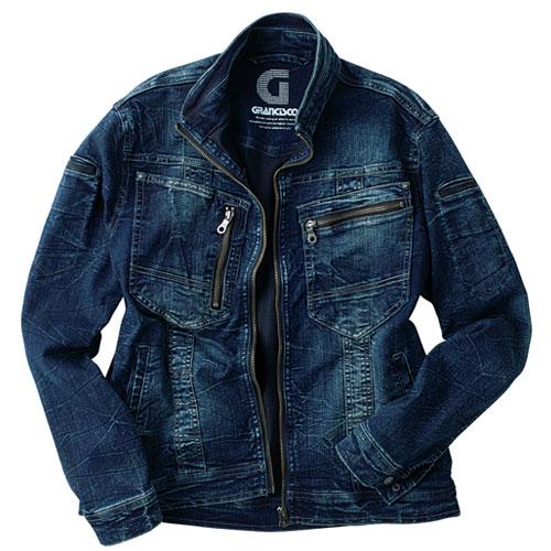 TAKA_GC-A700 GRANCISCO(グランシスコ)デニムジャケット[社名刺繍無料] SP/スペシャル
