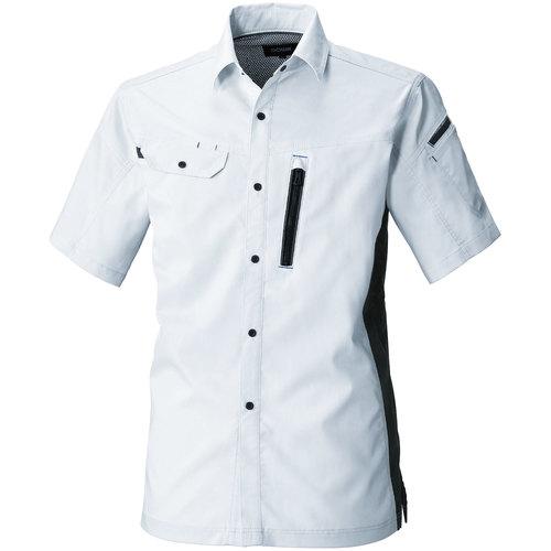 SOWA3018-03 半袖シャツ[社名刺繍無料] 22/シルバーグレー