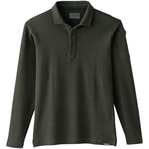 SOWA50710 長袖ポロシャツ 82/アーミー