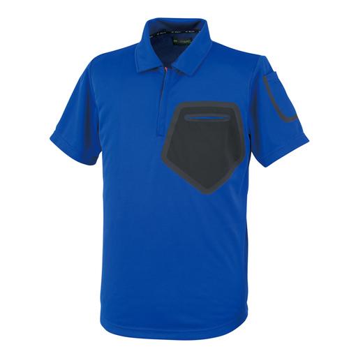OKW59593 半袖ポロシャツ 3/ブルー
