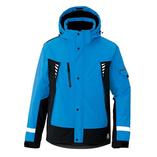 AZ-8876 防水防寒ジャケット(男女兼用) 006/ブルー
