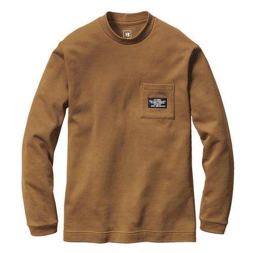 BURTLE4060 ロングTシャツ(ユニセックス) 62/アーバンブラウン