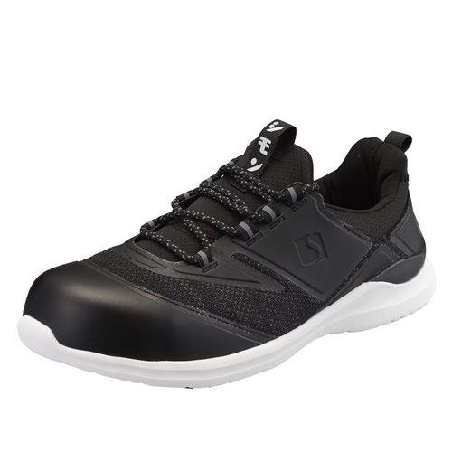 SIMON-KL711 シモン安全靴 人工皮革製スニーカー KL711 ブラック