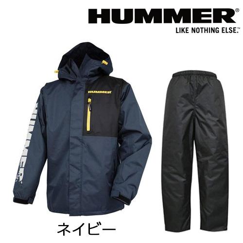 KOSHIN-HUMMER_HM-3300 HUMMER防水×防寒レインスーツ(上下セット) ネイビー