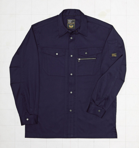 CUC2601 長袖シャツ[社名刺繍無料] 2/コン