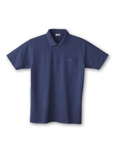 DESK24404 半袖ポロシャツ 011/ネービー